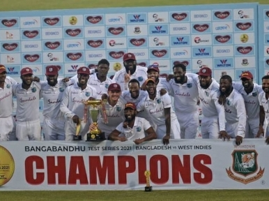 Test Cricket: West Indies defeat Bangladesh by 17 runs, win series 2-0