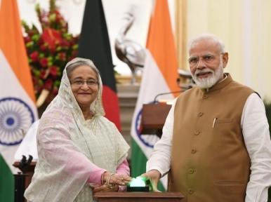 One billion vaccination: Sheikh Hasina congratulates Narendra Modi