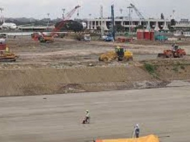 Infrastructure of Shahjalal Airport's third terminal visible now