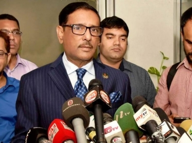 BNP thinks people-police as opponents: Quader