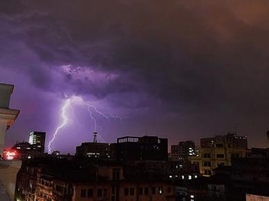 Nor'wester lashes Dhaka