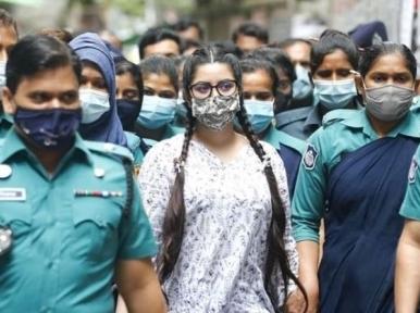 Is Pori Moni a mafia leader? Speakers ask at demonstration in Dhaka