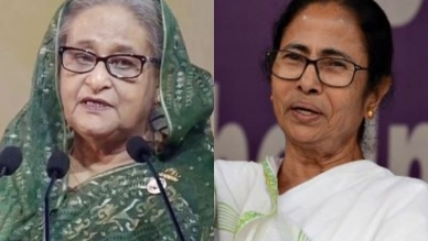 Overwhelmed with your message: Indian opposition leader Mamata Banerjee tells PM Hasina