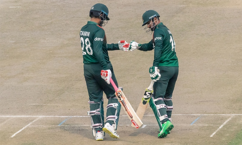 Skipper Tamim's century helps Bangladesh clinch ODI series 3-0 against hosts Zimbabwe