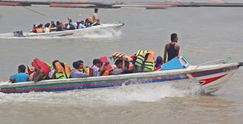 Speedboat service resumes on Banglabazar-Shimulia route after five months