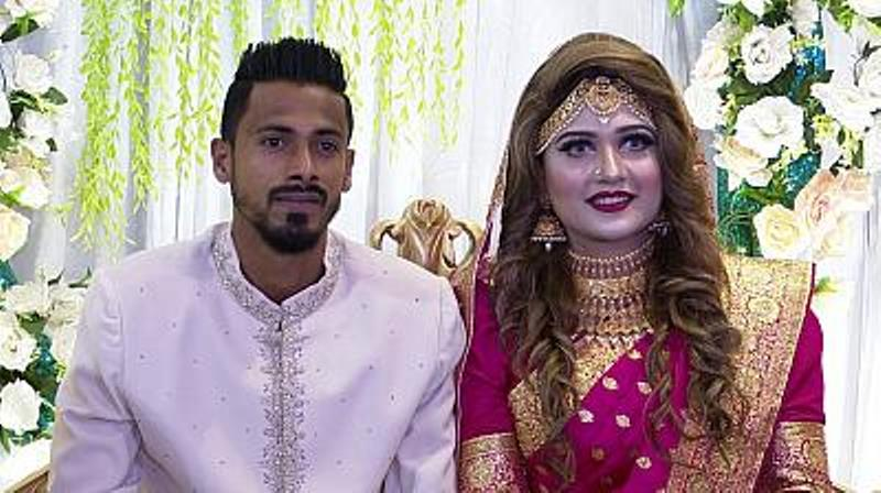 Footballer Sohel Rana marries fan turned girlfriend of six years