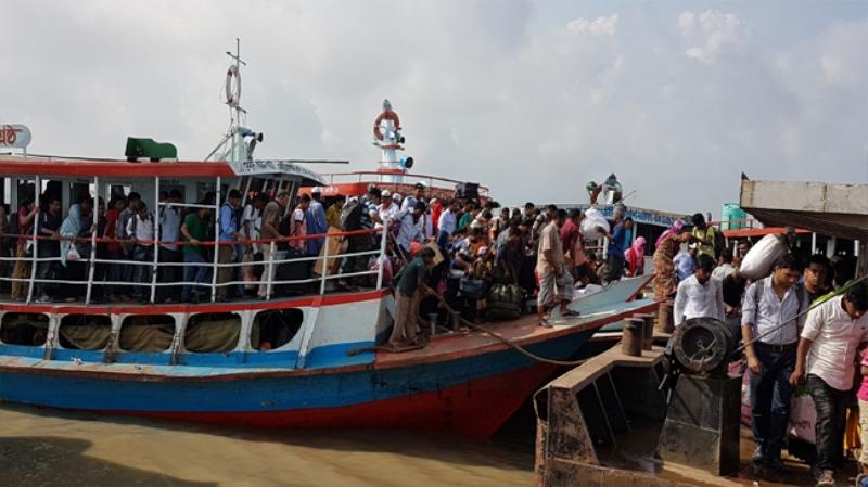 Banglabazar-Shimulia launch service resumes