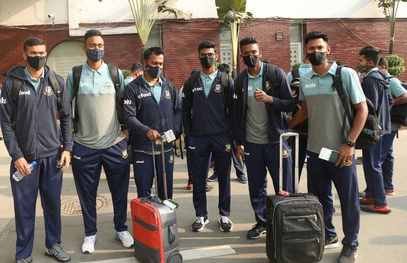 Bangladesh cricket team reach Christchurch for New Zealand tour