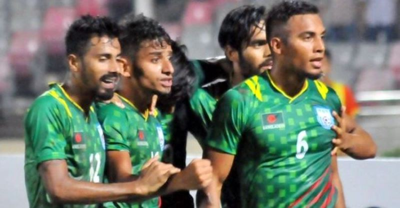 Bangladesh football team start with a win in Nepal