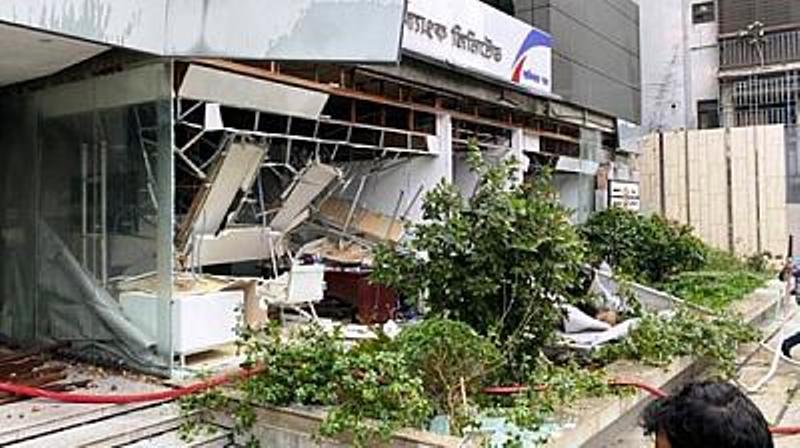 Explosion at UAE Visa Center; One killed
