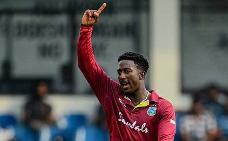 Hayden Walsh Jr ruled out of ODI series after testing positive for the coronavirus