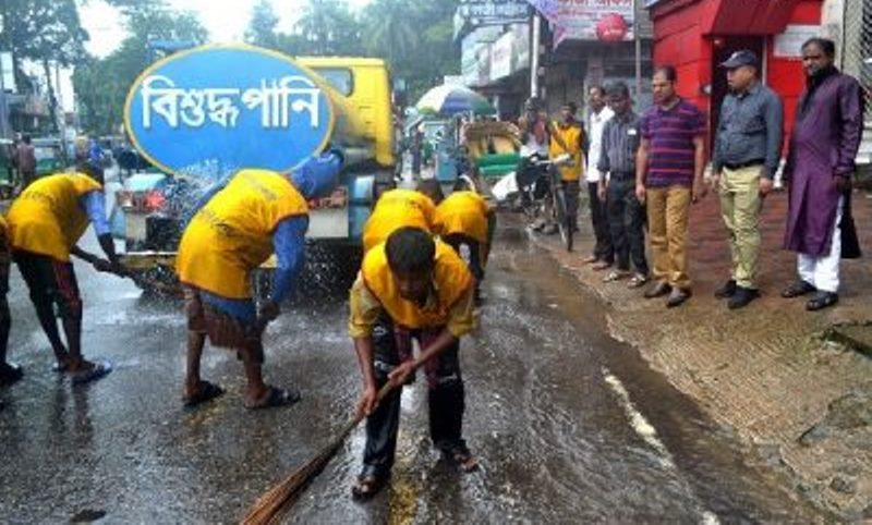Eid: Sylhet City Corporation removes waste within 10 hours