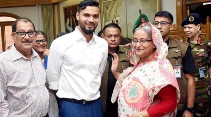 Cricketer Mashrafe Mortaza among 112 Young Global Leaders