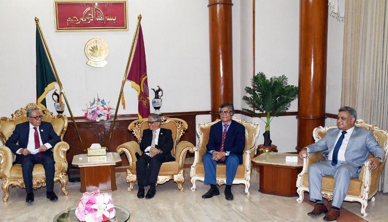 President instructs DU to prepare a 'roadmap' to resolve session jam