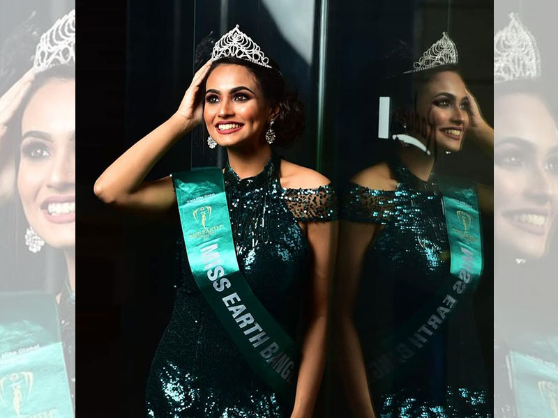 Umme Zamilatun Naima crowned Miss Earth Bangladesh 2021