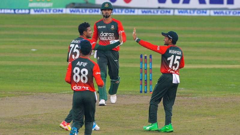 Bangladesh win second T20I by 4 runs against New Zealand, take 2-0 lead in 5-match series