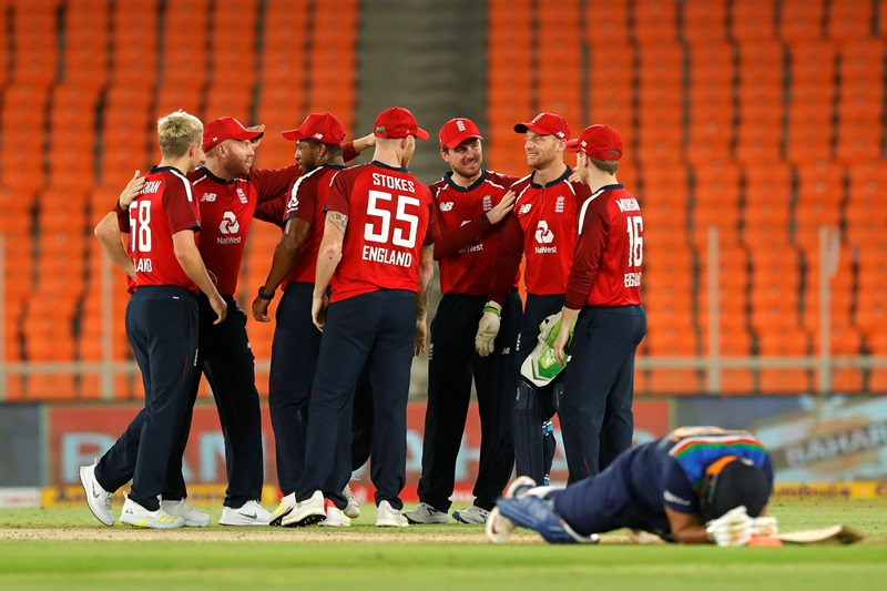 England fined for slow over-rate in fourth T20I against India