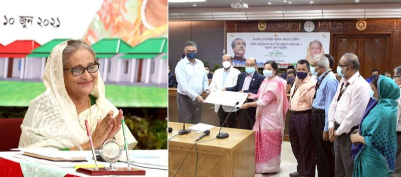 Economic potential of the common man will be ensured: PM Hasina