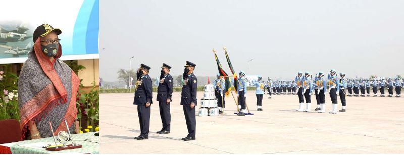 Warplanes will be made in Bangladesh: PM Hasina