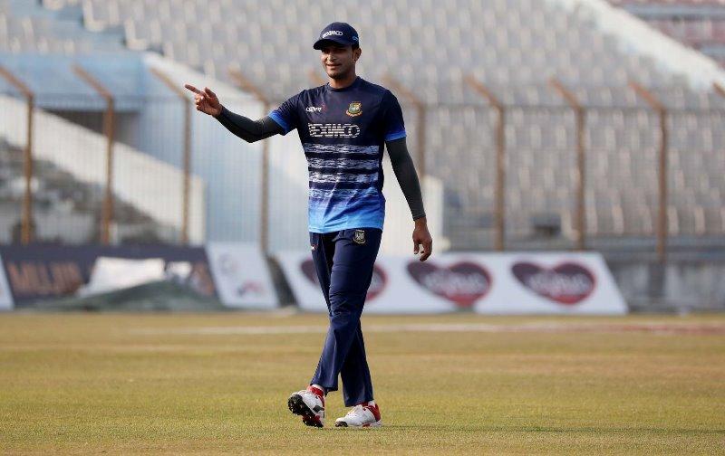 Shakib Al Hasan dropped from Dhaka Test