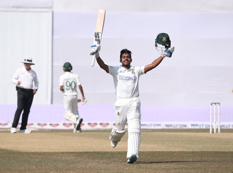 First Test: Bangladesh bowled out for 430 runs in the first innings against West Indies