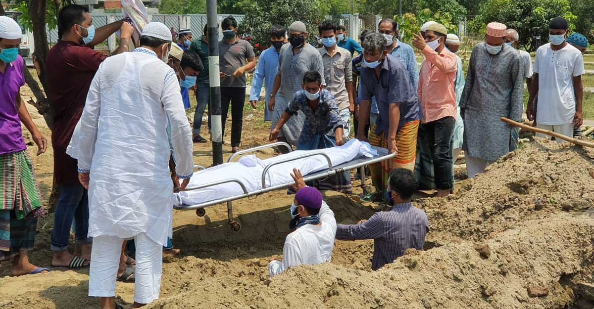 Bangladesh witnesses 153 deaths due to COVID-19