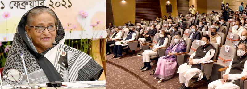 Language is our glorious achievement: Prime Minister Hasina