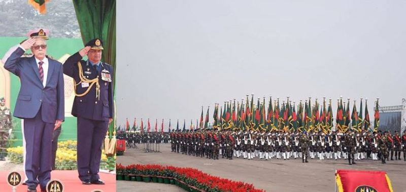 Four countries will join Bangladesh's victory parade in Parade Square