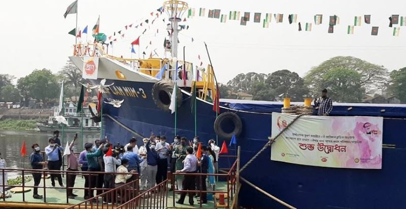 First shipment of food products by sea to India through Pran Group