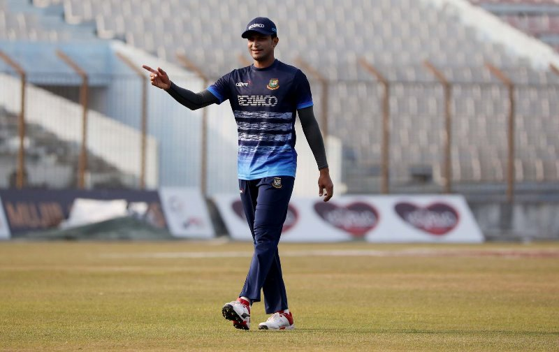 Shakib slips to number two in ICC T20 allrounder rankings, Mustafizur up two places in bowler list