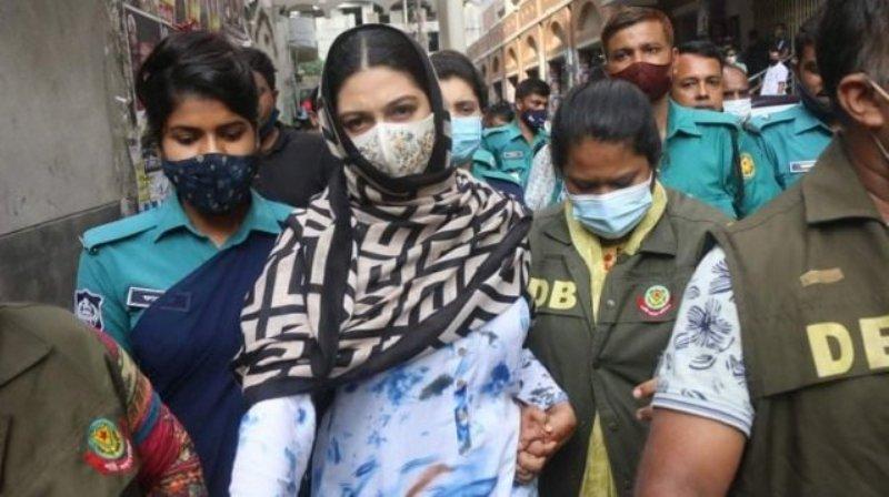 Chargesheet against model Piasha in drug case