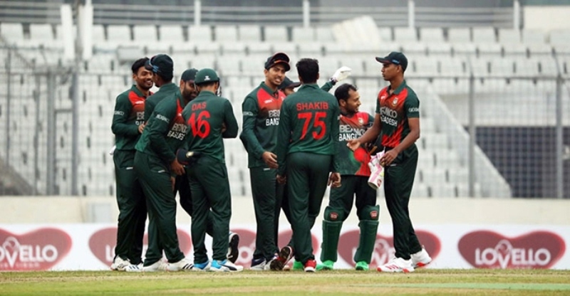Bangladesh win first ODI by six wickets against West Indies