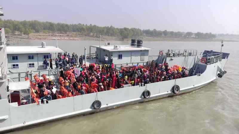 Another 1,500 Rohingya refugees on their way to Bhasan Char