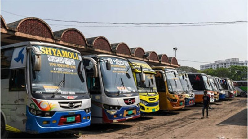 Tickets are on sale at the Gabtoli counter, long-distance buses to leave at night