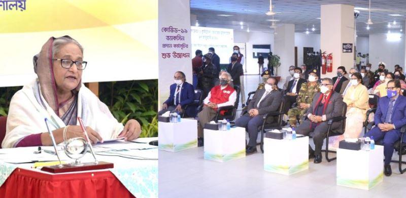 Bangladesh to get 34 million Covid-19 vaccine: Prime Minister Hasina