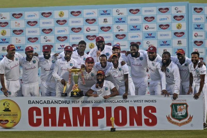 Test Cricket: West Indies defeat Bangladesh by 17 runs, win series 2-0