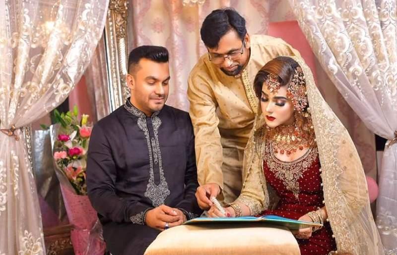 Actress Mahiya Mahi gets married to Gazipur-based businessman and politician Kamruzzaman Sarker Rakib