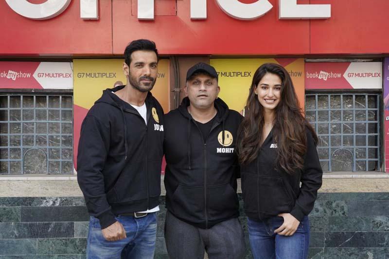 Disha Patani begins shooting for Ek Villain Returns