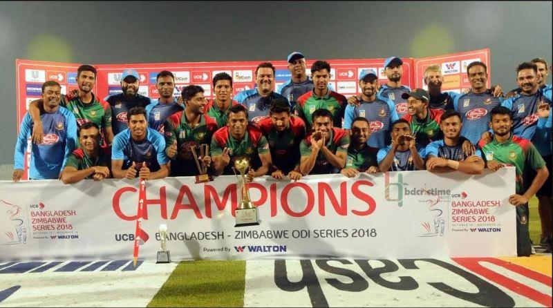 Bangladesh win ODI series by whitewashing West Indies