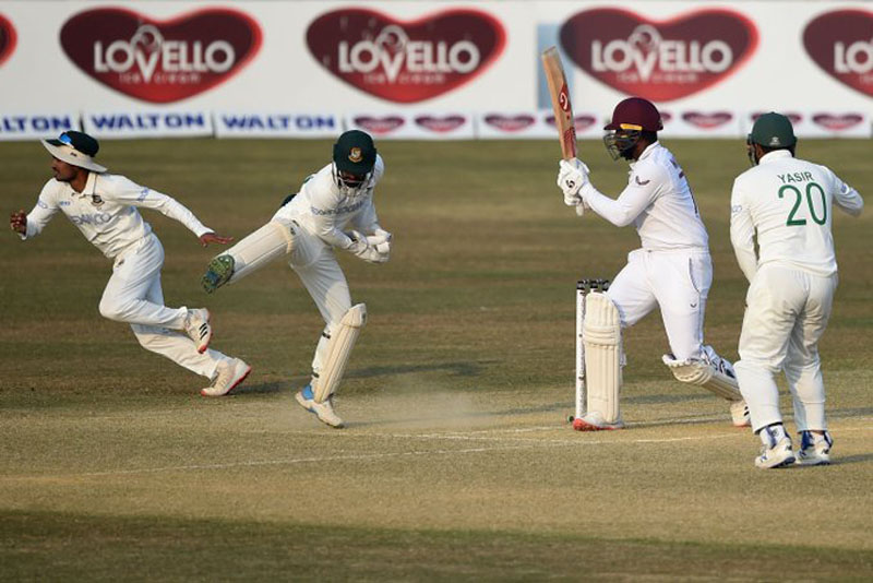 Bangladesh on verge of getting Test championship point