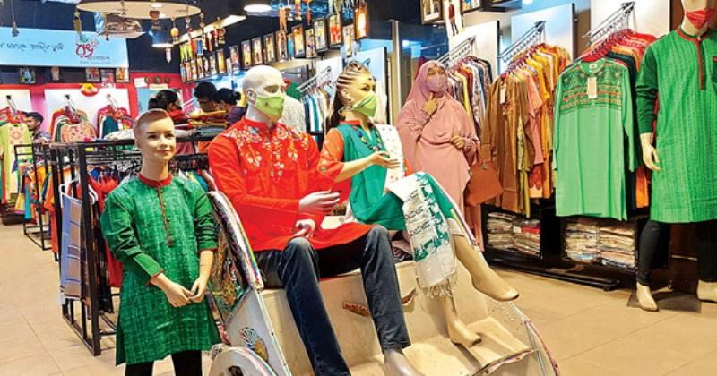 Baishakhi dress in stores, no buyers