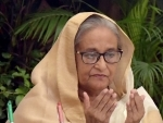 Sheikh Hasina attends crucial event from Ganabhaban