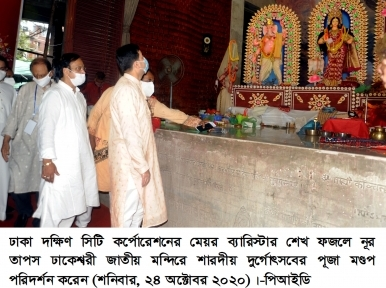 Durga Puja in Dhaka