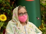Sheikh Hasina attends major meeting