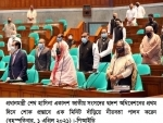 Sheikh Hasina in Parliament