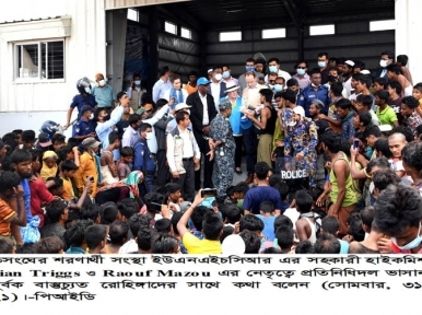 UN team meets Rohingyas in Bangladesh