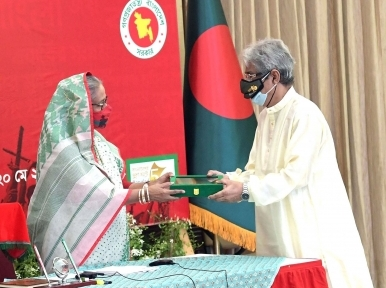 Sheikh Hasina joins special programme