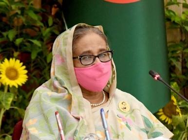 Sheikh Hasina attends major meeting