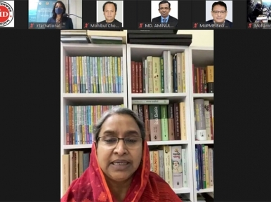 Dipu Moni speaks at special event to mark International Day of Education