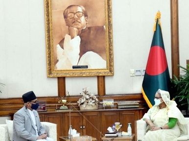 Nepal's envoy meets Sheikh Hasina